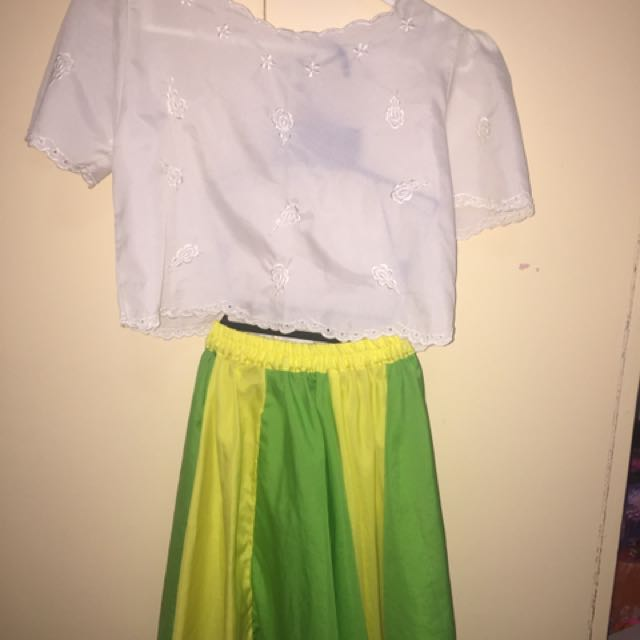 Filipinana & SuperGirl Costumes