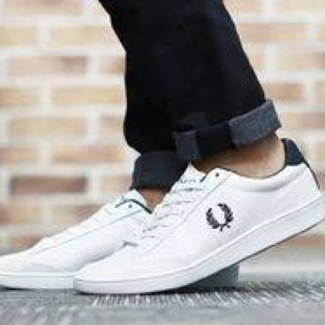 New Fred Perry Hopman Leather Shoes