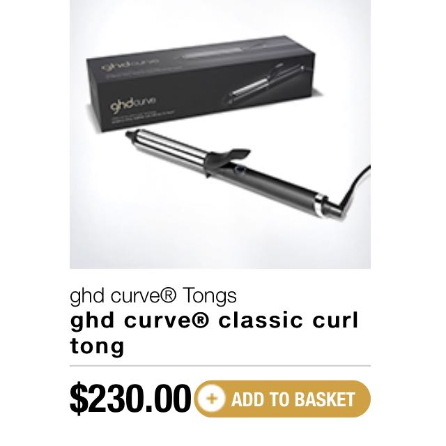Ghd Curve Tongs