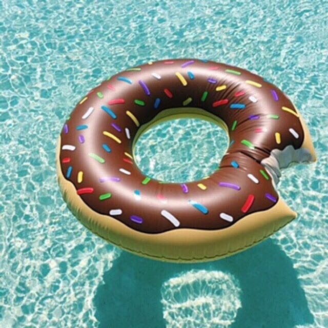 Giant Floater (Choco Donut)