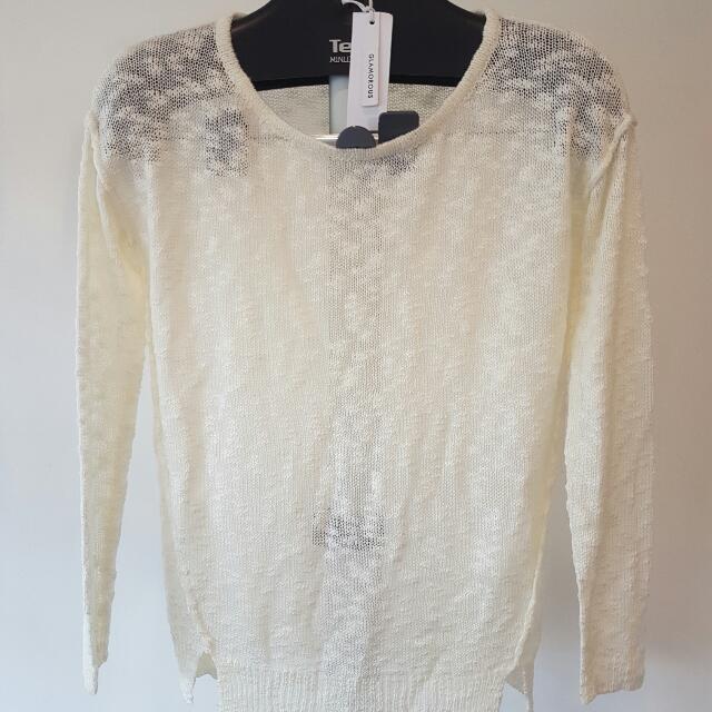 Glamorous Brand Knit Top
