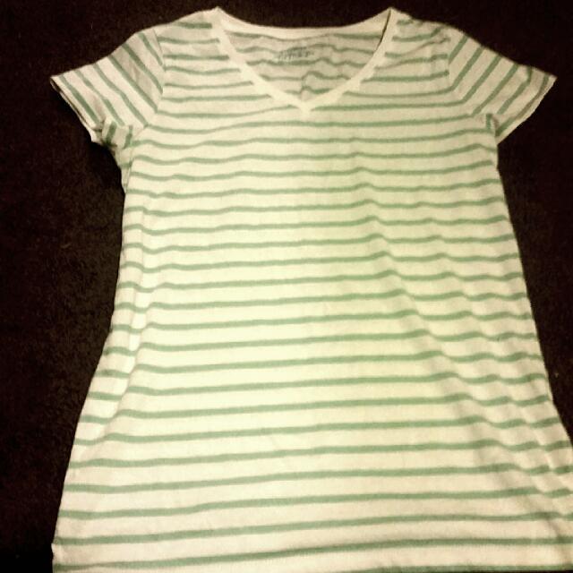 Giordano Striped Shirt