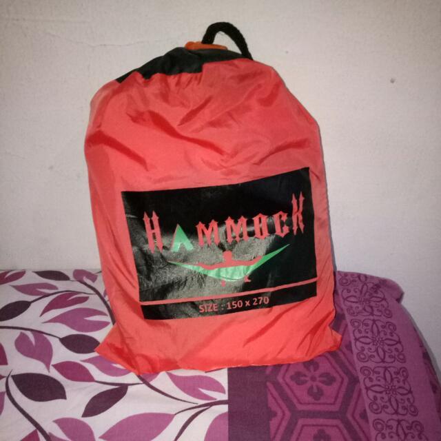 Hammock Tanpa Carabiner Warna Peach