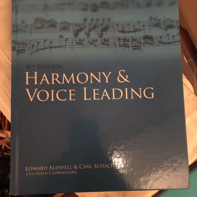 Harmony And Voice Leading - 4th Edition