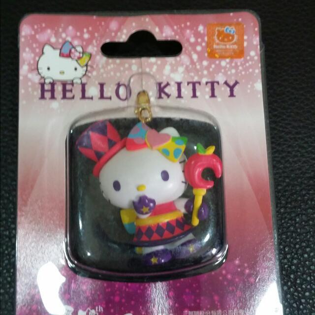 HELLO KITTY耳機塞吊飾