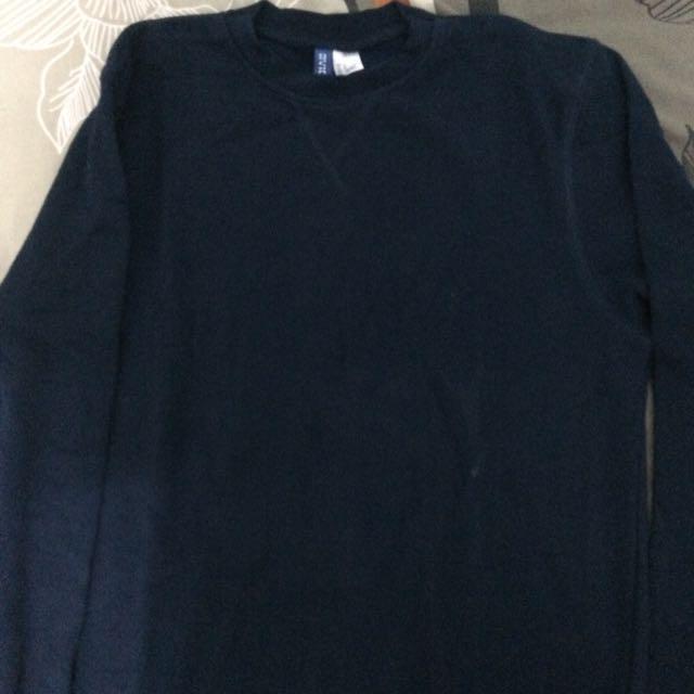 HnM sweater navy blue