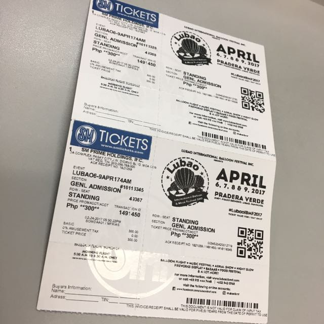Hot Air Balloon Ticket for 2