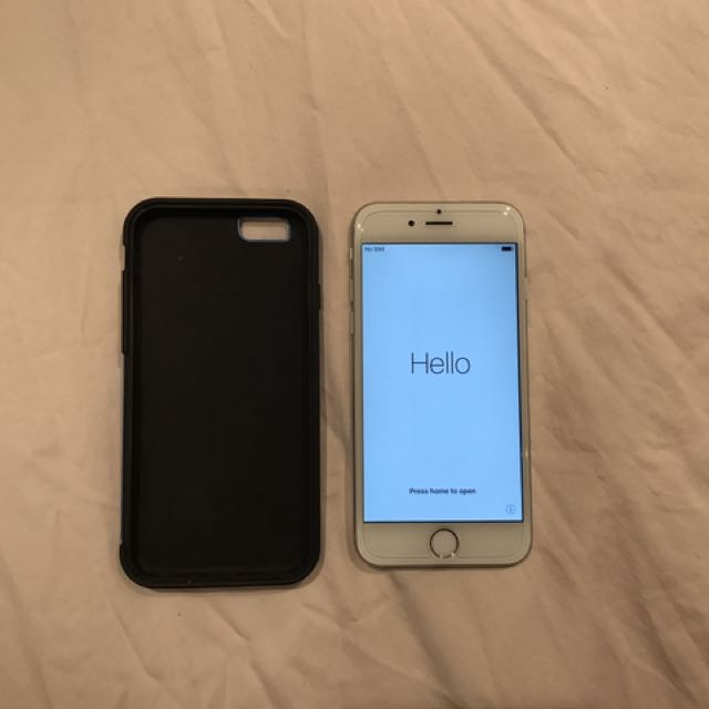 iPhone 6 64gb white/silver