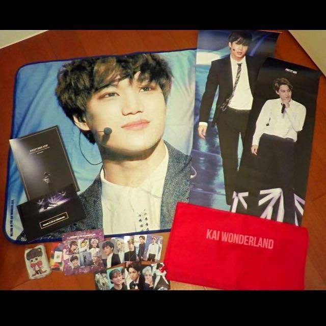 【售】KAI 金鍾仁 EXO 韓站 寫真 DVD PB 海報 周邊