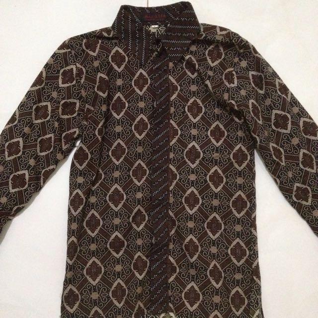 Kemeja Batik Alfa Lengan Panjang