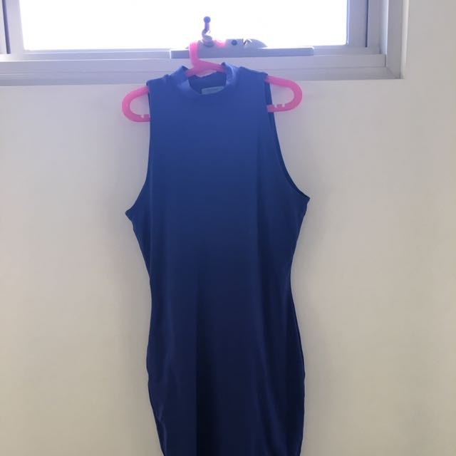 Kookai Blue Bodycon Dress