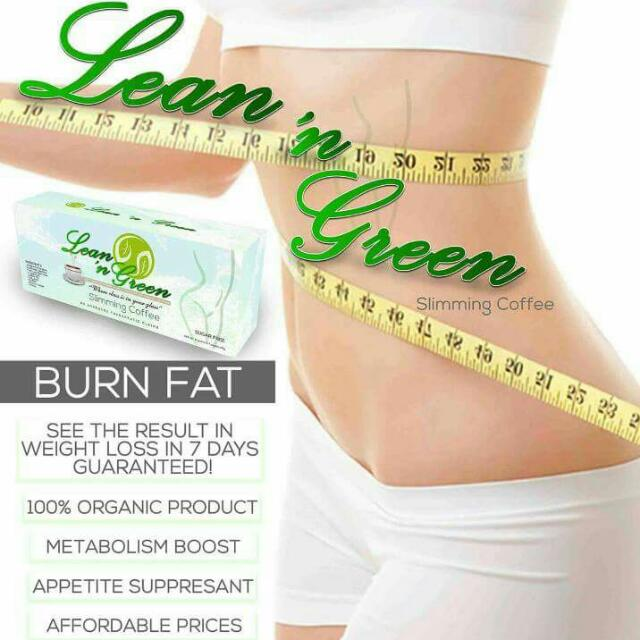 LEAN & GREEN SLIMMING COFFEE (ORGANIC)