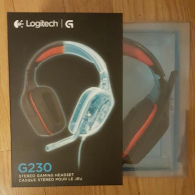 Logitech G230 Computer Gaming Headset