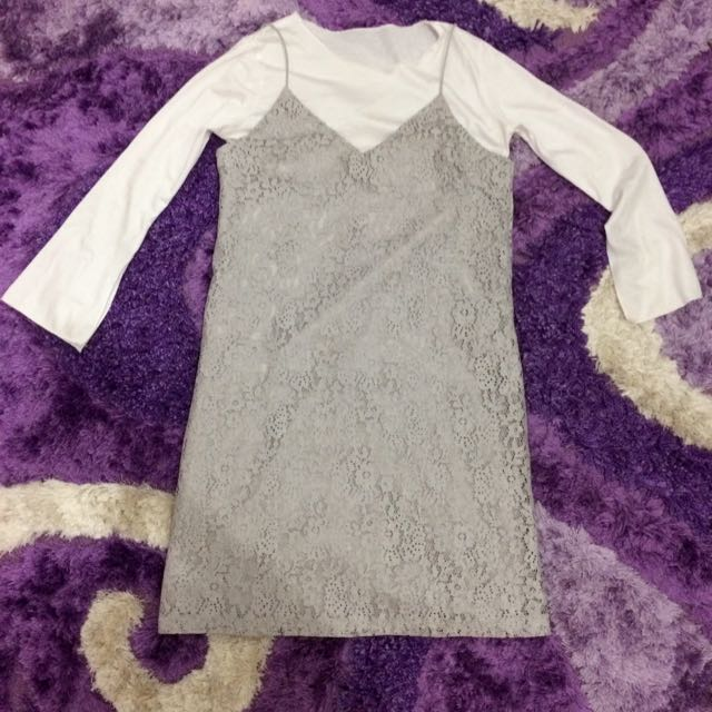 Milai Dress Grey