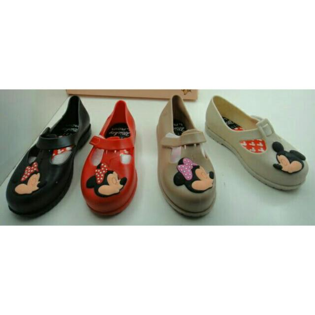 Mini Melissa Minnie Mickey Mouse / Jellyshoes Anak / Kid Shoes / Sepatu Anak Mini Miki