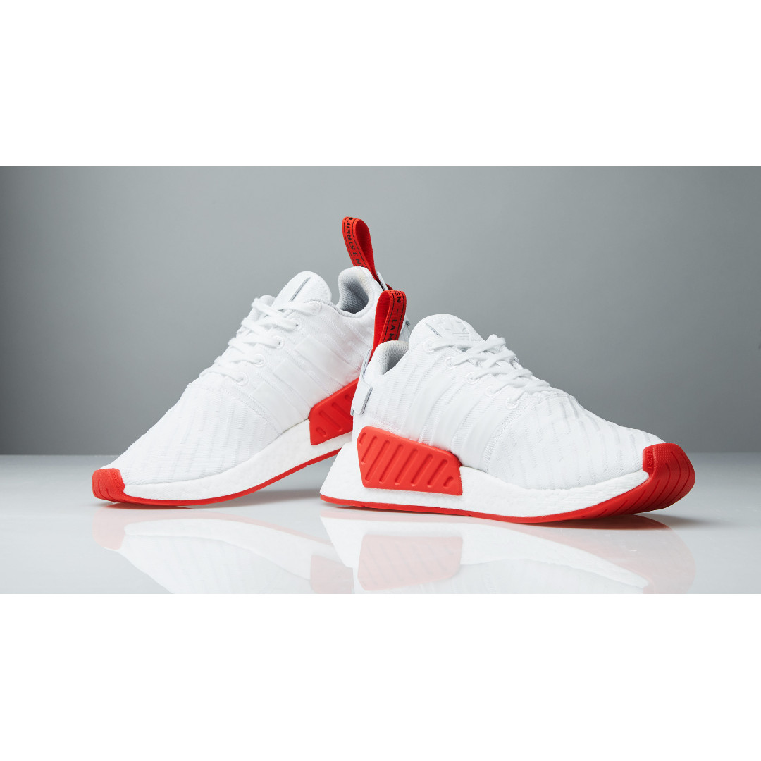 f8ce7537c47e0 NEW Adidas Originals NMD R2 PK Primeknit Runner Boost Two Toned ...