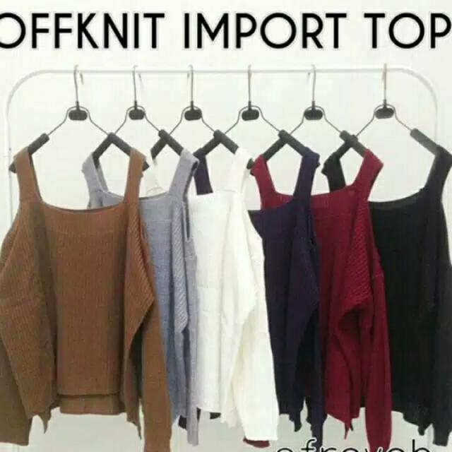 Off Knit Import