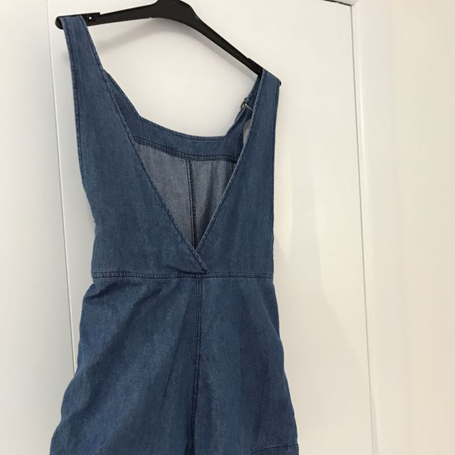 Open Back Dungarees