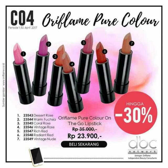 ORIFLAME pure Colour