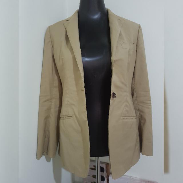 ORIHICA beige corporate blazer