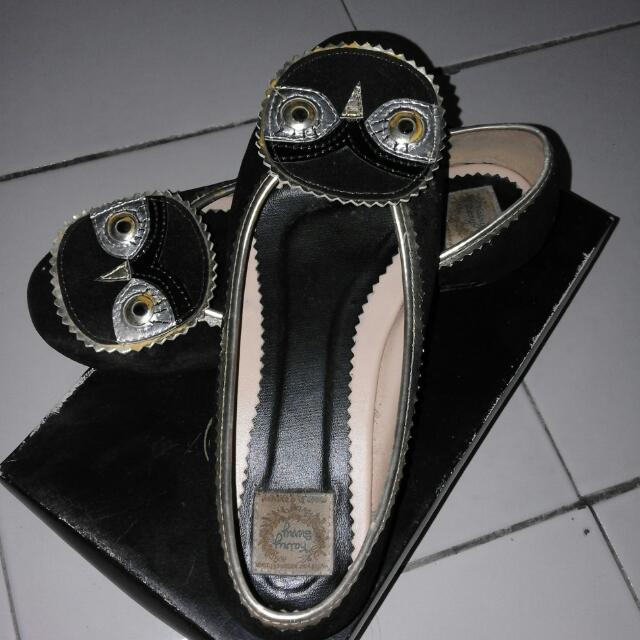 owl flatshoes
