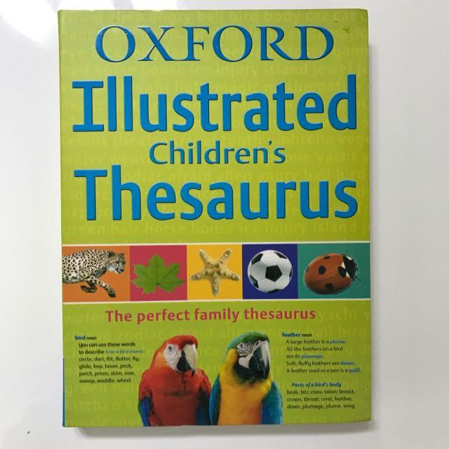 The Oxford Childrens Thesaurus
