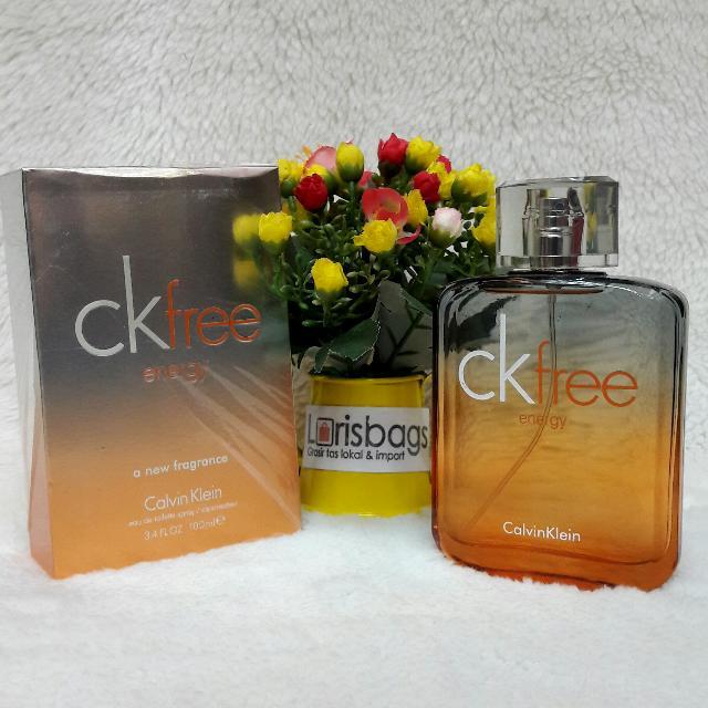 Parfum CK Free Energi Original Singapore