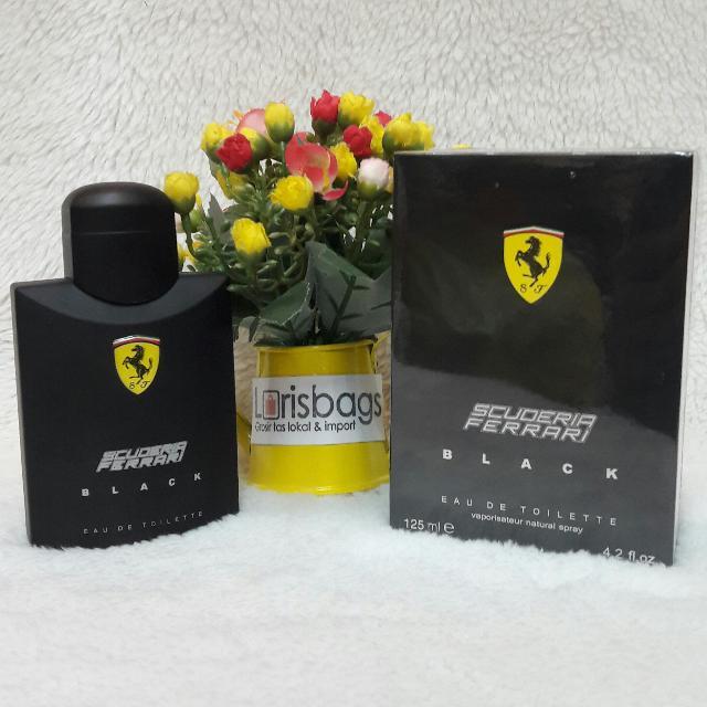 Parfum Ferrari Black Original Singapore
