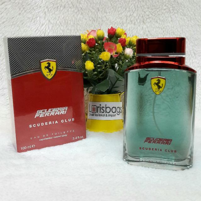 Parfum Ferrari Scuderia Xlub Original Singapore