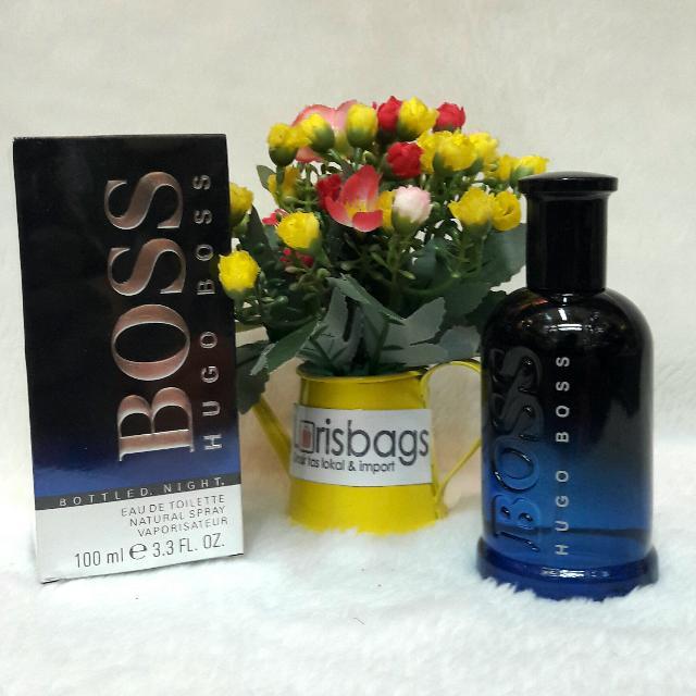 Parfum Hugo Bootled Night Original Singapore