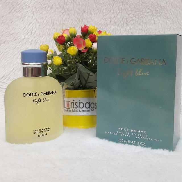Parfum Light Blue Men Original Singapore