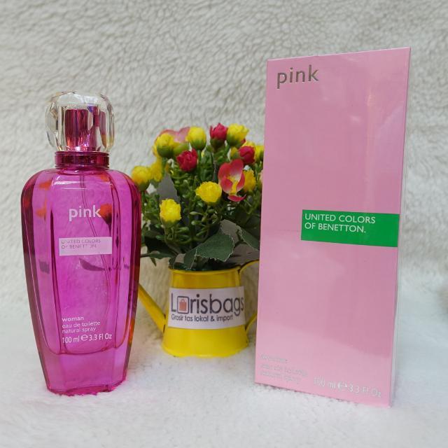 Parfum United Colour of Benetton Pink Original Singapore