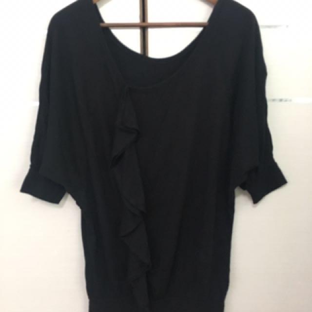 Pazzo 黑色棉質洋裝