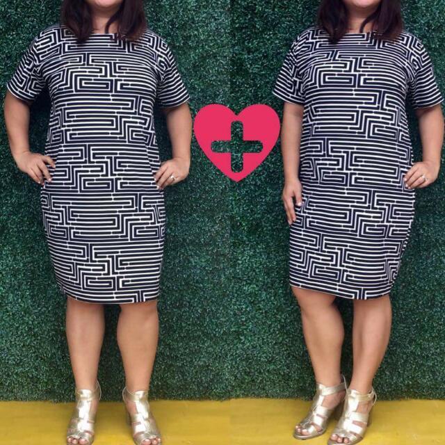 Dress XL-2XL Plus Size