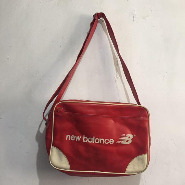 Postman Bag New Balance Red Original