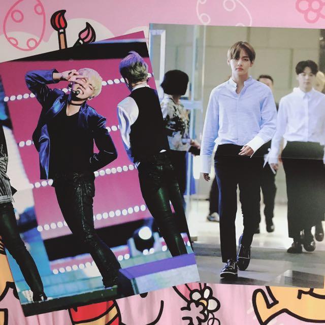 [QYOP] BTS V - TAETAELAND fansite posters