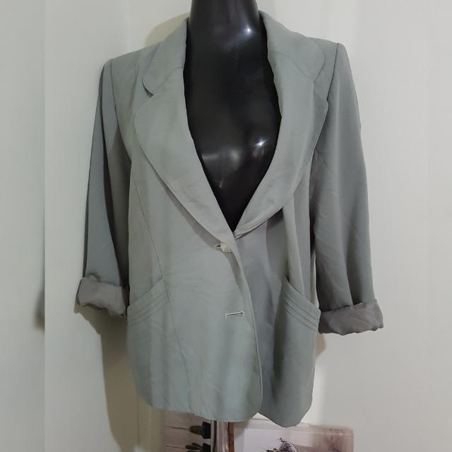 RECOLTE oversized blazer
