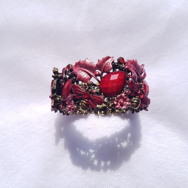 Red Allloy Bracelet