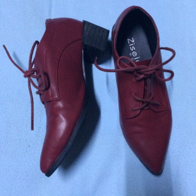 Red Corporate Shoes