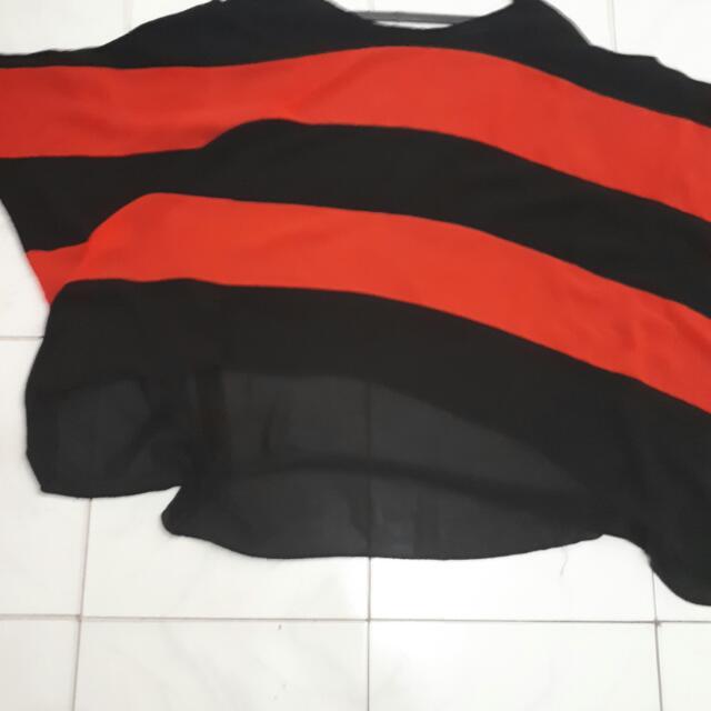 Red Stripe Big Size