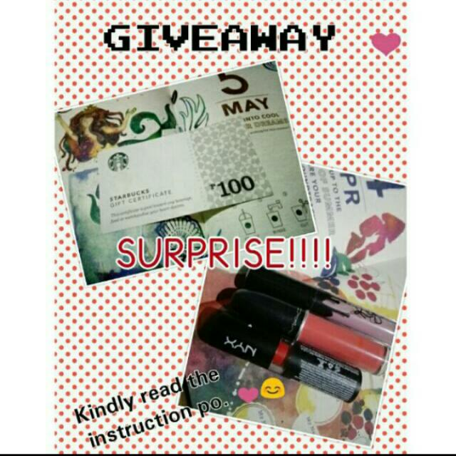 Repost Giveaway From @cessang_