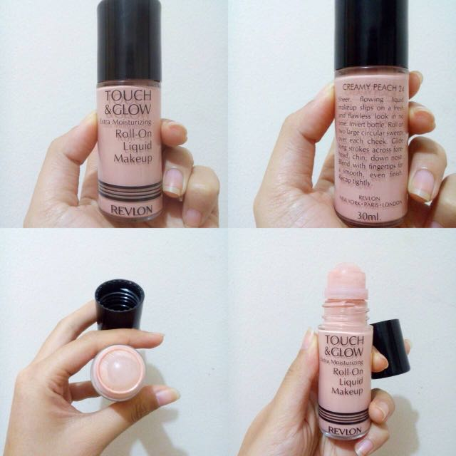 Revlon Touch and Glow Roll-On Liquid Makeup