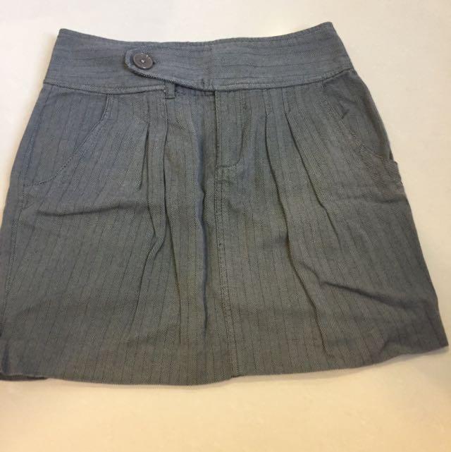 Rok Skirt Armani Exchange AX Sz 4