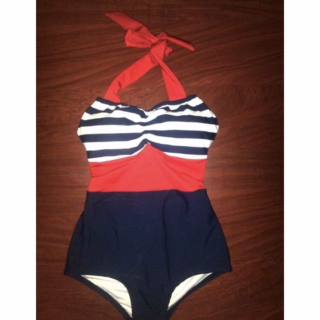 Sailor One Piece Swimsuit