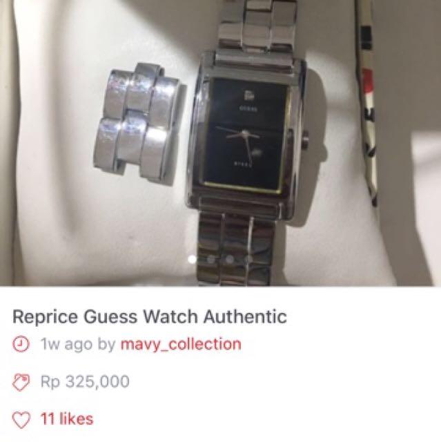 Sale 2 Item Guess Watch Ori