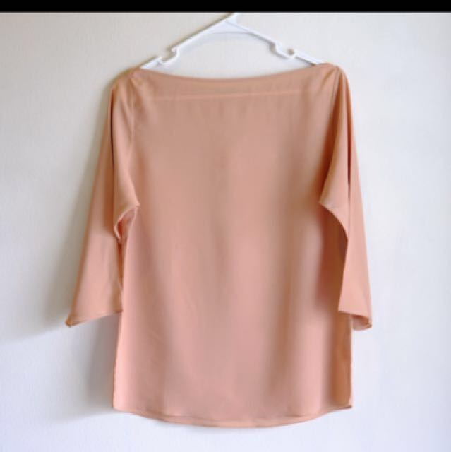 Shopatvelvet Light Brown Blouse
