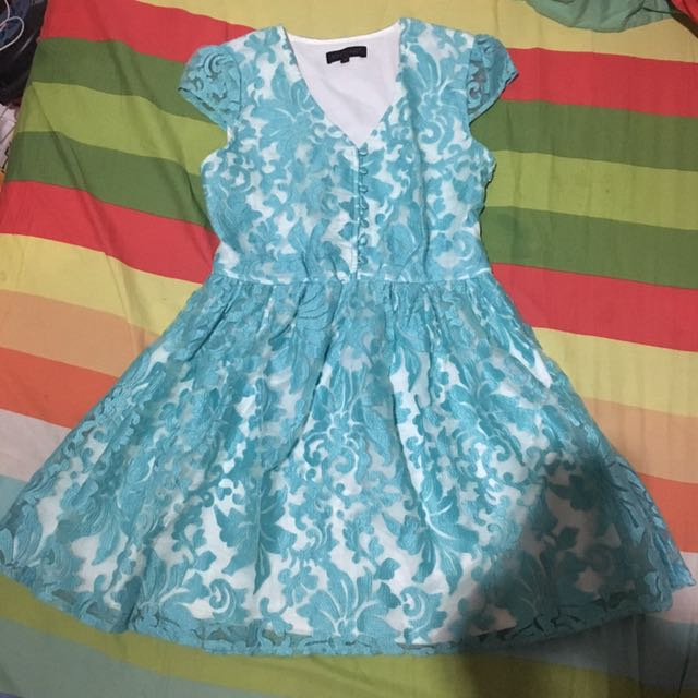 Solemio Mint Dress (SALE PINDAHAN)