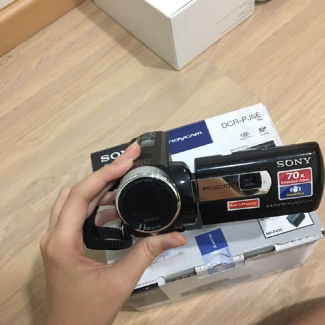 Sony Handycam DCR-PJ6E