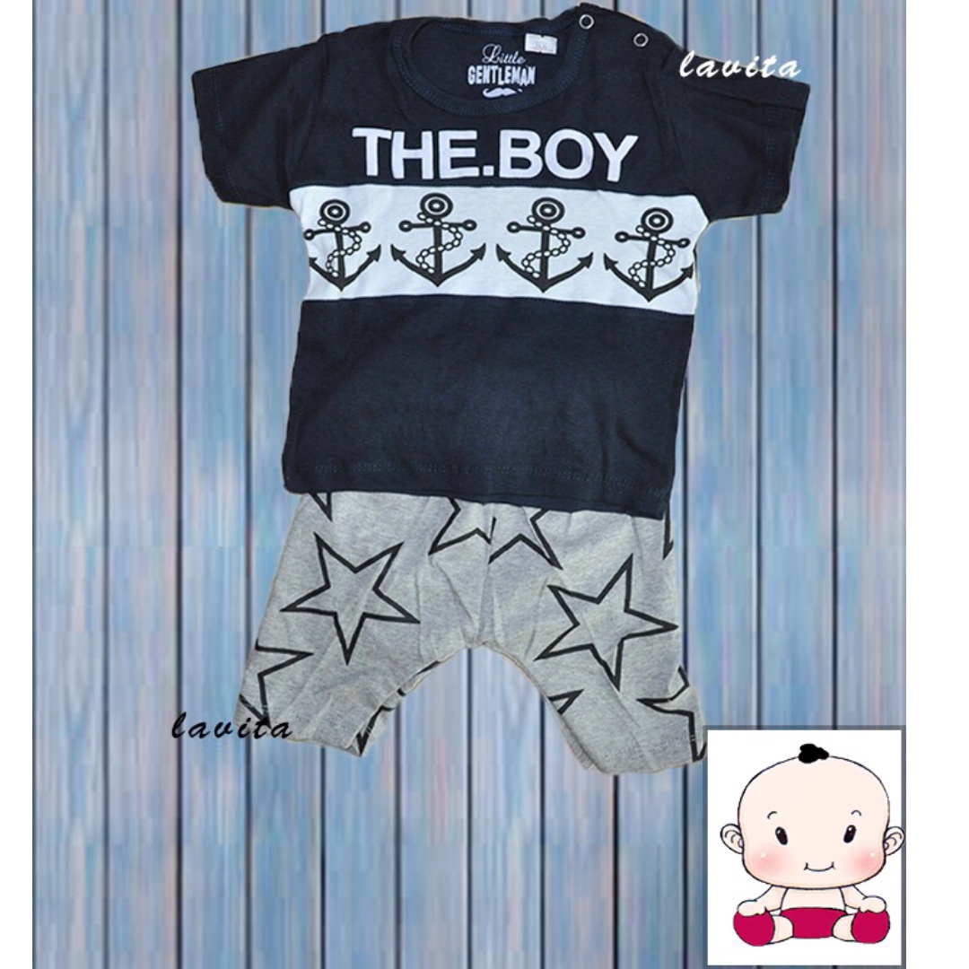 Stelan Little Gentleman Motif Sailor