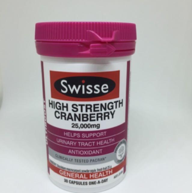 Swisse高濃度蔓越莓25,000mg(30膠囊)